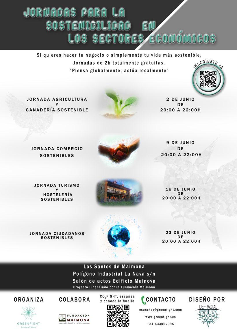 Resumen y conclusiones Jornadas de Sostenibilidad en los diferentes sectores económicos difusos